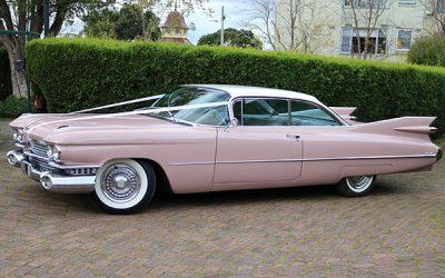 2 Door 1959 Cadillac Coupe De Ville Hire
