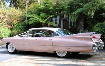 4 Door 1959 Cadillac Sedan De Ville Hire