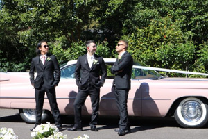 Goldstar Wedding Car Hire - 2 Door Cadillac Sedan De Ville Hire