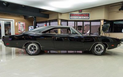 Black Dodge Charger Coupe Hire