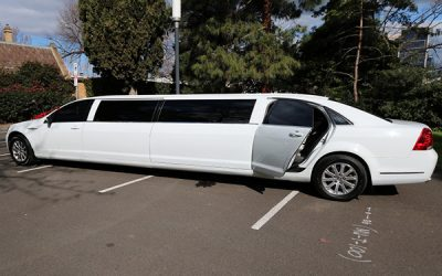 White Statesman Stretch Limousine Hire