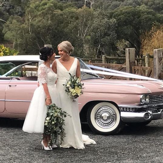 Gold Star Wedding Car Hire - Same Sex Wedding Limo Hire Melbourne
