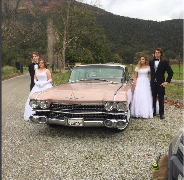 Gold Star Wedding Car - Melbourne Deb Ball Limo Hire